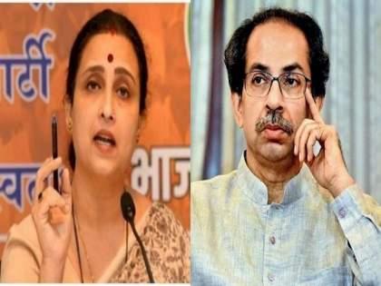 "BJP Chitra Wagh Slams Thackeray Government Over delhi police arrested terrorist from maharashtra | ""आपली पोलीस फौज सरकारने १०० कोटी मोजायला बसवलीय का?""; भाजपाचा ठाकरे सरकारवर हल्लाबोल"