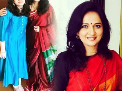 Did you see actress Kavita Medhekar's daughter ?, looks very beautiful | अभिनेत्री कविता मेढेकरच्या लेकीला पाहिलंत का?, दिसते खुप सुंदर