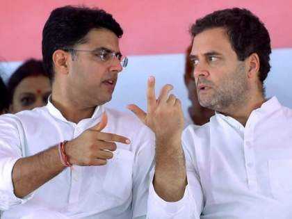Movements for change of leadership from Congress to another state? Sachin Pilot arrives in Delhi, starts meeting with Rahul and Priyanka   काँग्रेसकडून अजून एका राज्यात नेतृत्वबदलाच्या हालचाली? सचिन पायलट दिल्लीत दाखल, राहुल-प्रियंकांसोबत बैठक सुरू