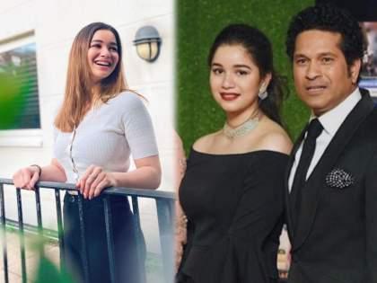 Kartik Aaryan reacts on Sachin Tendulkar's daughter Sara Tendulkar's beautiful 'all smiles' photo | सचिन तेंडुलकरची लेक सारावर बॉलिवूडचा 'हा' अभिनेता झाला लट्टू