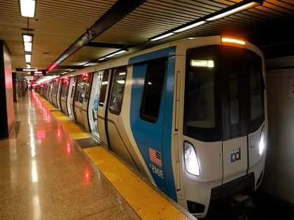 Woman dragged to death by San Francisco train while attached to her dog | कमरेला बांधलेला पट्टा ट्रेनच्या दरवाजात अडकला; फरफटत गेलेल्या महिलेचा दुर्दैवी मृत्यू