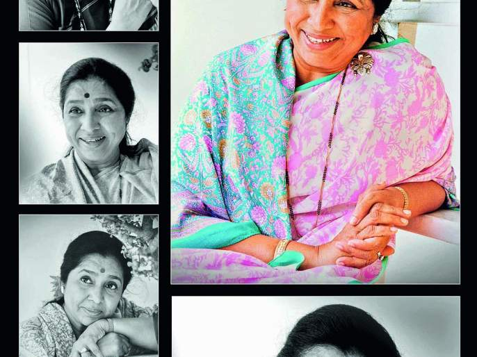 Sateesh Paknikar's sweet memories of great playback singer Asha Bhosle on her birthday.. | 'स्वरस्वामिनी'
