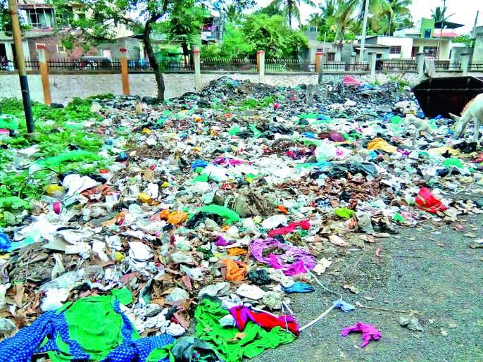 Biological waste eradication project closed | मिरजेत जैविक कचरा निर्मूलन प्रकल्प बंद