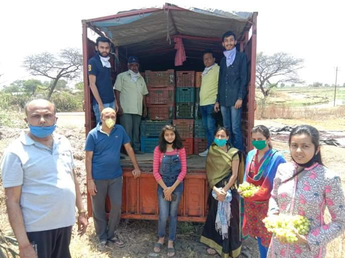 Grape logistics for Corona workers | 'कोरोना'तील सेवाकर्मींसाठी द्राक्षांची रसद