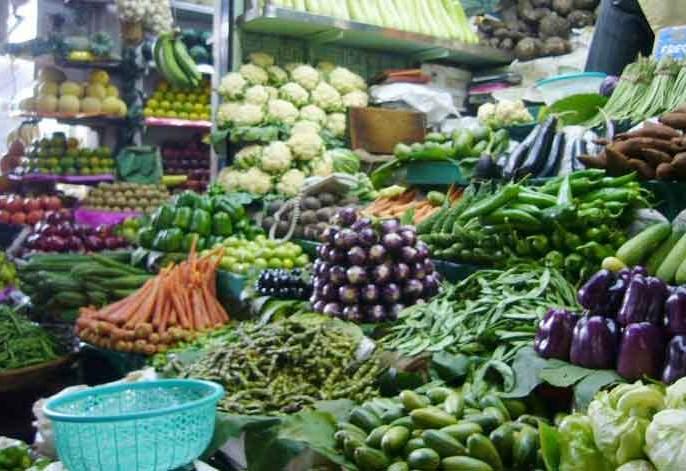 The rate of leafy vegetables increased   पालेभाज्यांचे दर वधारले