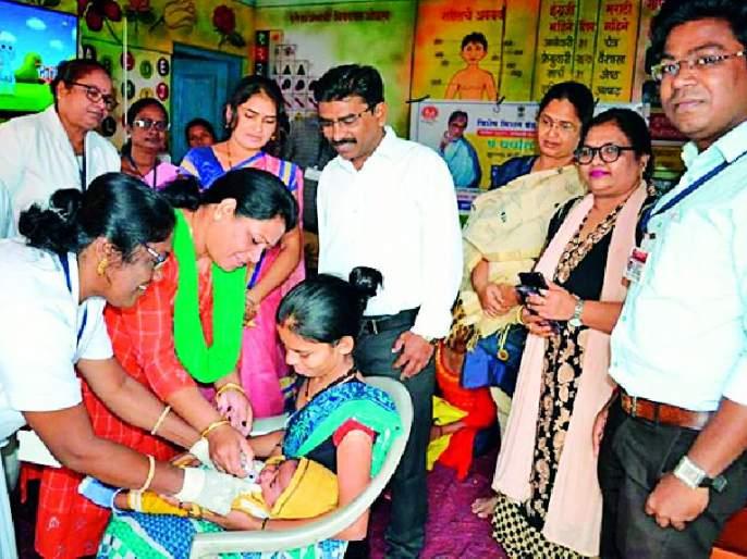 Mission Rainbow Vaccination Campaign in 4 villages | १७२ गावात मिशन इंद्रधनुष लसीकरण मोहीम