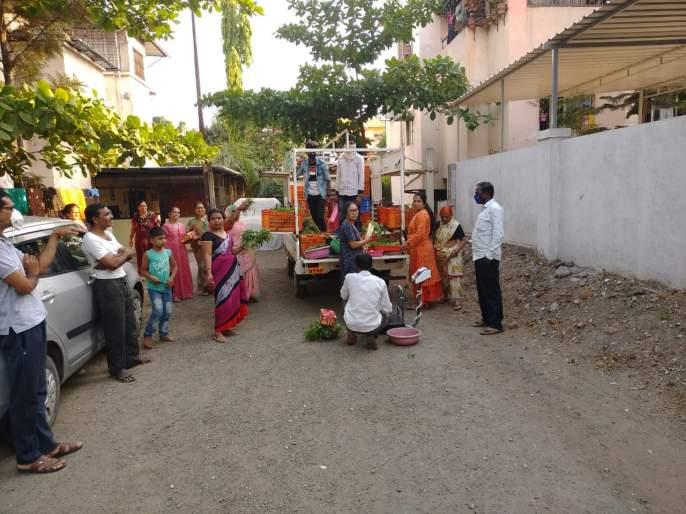 Agricultural department for supply of vegetables | भाजीपाला पुरवठ्यासाठी सरसावला कृषी विभाग