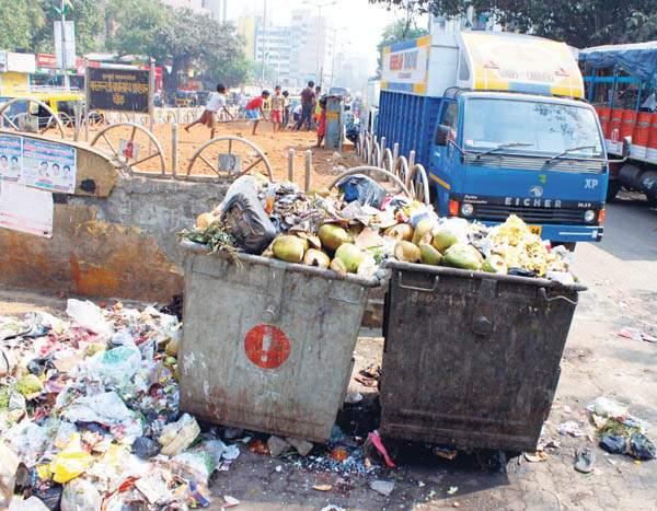 Penalty action if garbage   कचरा केल्यास दंडात्मक कारवाई