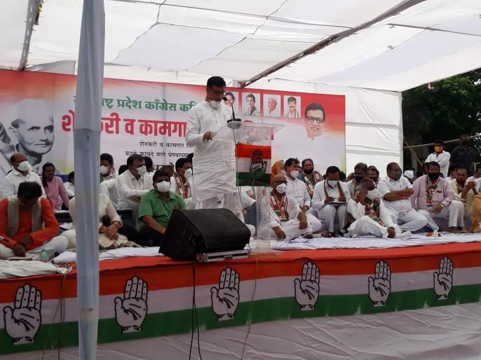 Modi government is anti-farmer | मोदी सरकार शेतकरीविरोधी