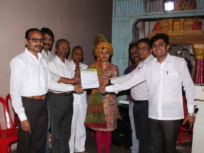 Kalyani Rangole appointed on Kaisar Society Foundation | कासार समाज फाऊंडेशनवर कल्याणी रांगोळे यांची नियुक्ती