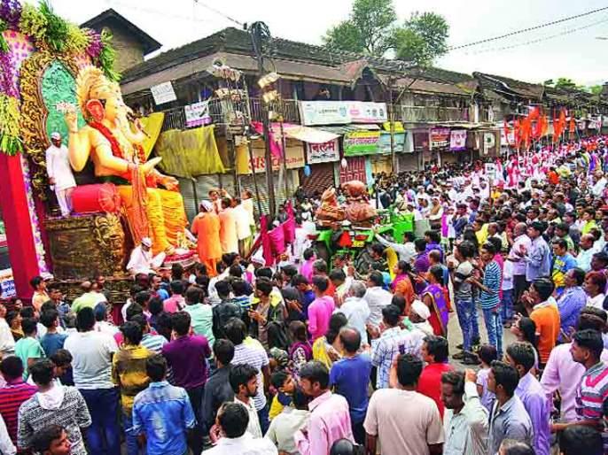 Ganesha arrival, immersion procession forbidden | गणेश आगमन, विसर्जन मिरवणुकीला मनाई