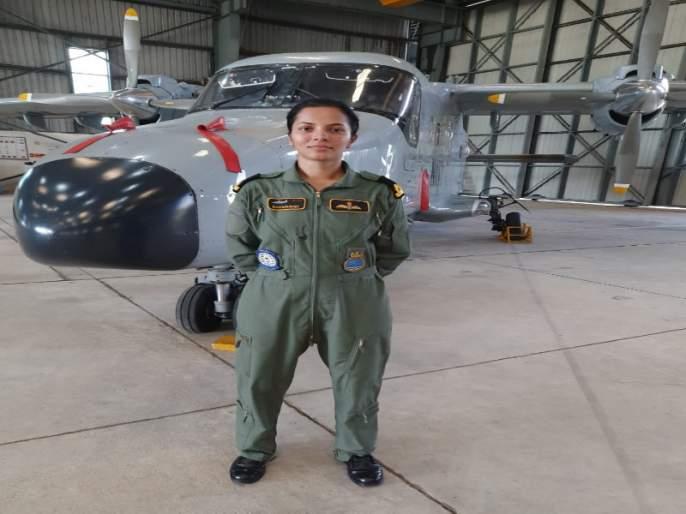 Indian navy day special : Shivani swaroop joined to indian navy | भारतीय नौदल दिन विशेष : विमानांच्या आकर्षणातून 'ती'ची अवकाशभरारी !