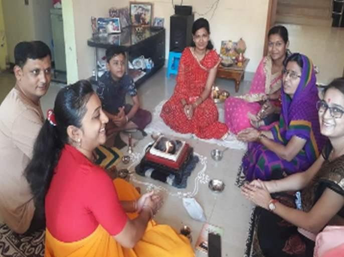 Mahayagya Sohal in the house khunda | घरोघरी होमकुंडात महायज्ञ सोहळा