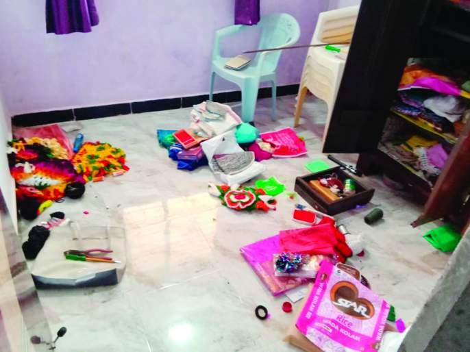 Thieves in the house of an employee of Mahavitran | महावितरणमधील कर्मचाऱ्याच्या घरातच चोरट्यांचा डल्ला