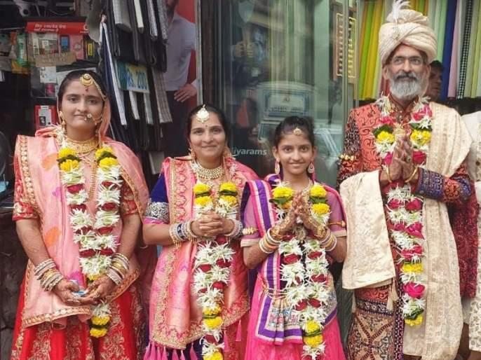 Birth of family, initiation will take place from Oswal family   जन्मभूमी, कर्मभूमी सोडून ओसवाल कुटुंब घेणार दीक्षा