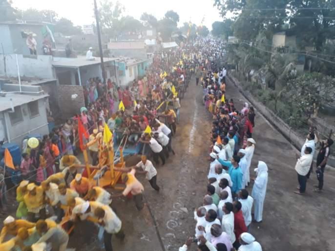 Khandoba Yatra in celebration | खंडोबा यात्रोउत्सव उत्साहात