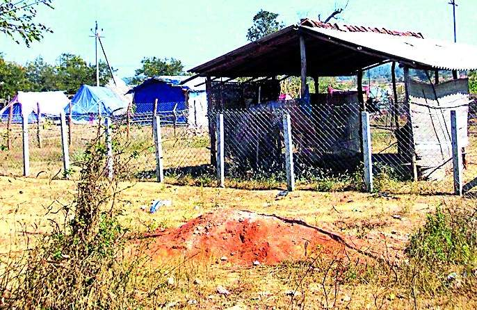 Encroachment of encroachment in city of Sironcha | सिरोंचा शहराला अतिक्रमणाचा विळखा