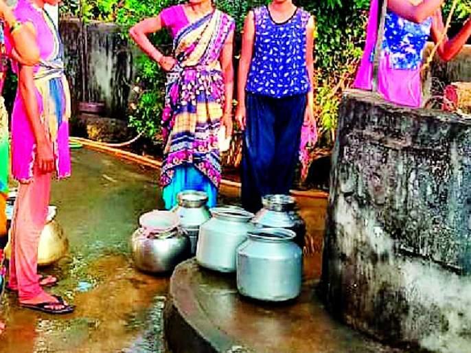 Muddy water supply in Delanwadi village | देलनवाडी गावात गढूळ पाणीपुरवठा