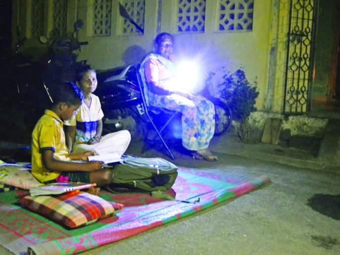 Generator fitting test; Power supply to girls' ITIs cut off | जनरेटर बसवून द्यावी लागत आहे परीक्षा; मुलींच्या 'आयटीआय'चा वीजपुरवठा खंडित