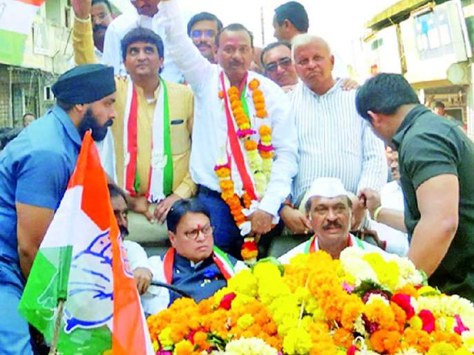 Maharashtra Election 2019; Balasaheb Mangulkar candidate of the general public | Maharashtra Election 2019 ; बाळासाहेब मांगुळकर सर्वसामान्य लोकांचे उमेदवार