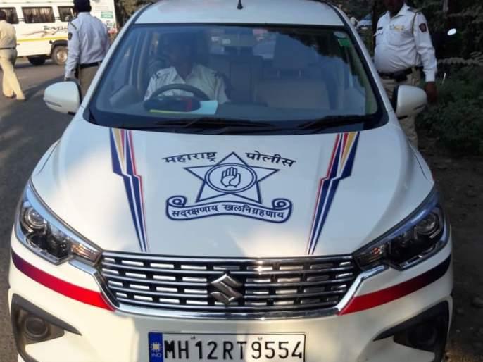 Speed gun car in Akola police force | अकोला पोलीस दलात 'स्पीड गन' कार दाखल