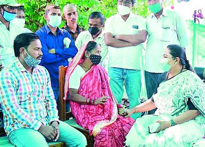 Strongly support Deepali Chavan's family to get justice   दीपाली चव्हाण यांच्या कुटुंबाला न्याय मिळण्यासाठी खंबीरपणे पाठीशी