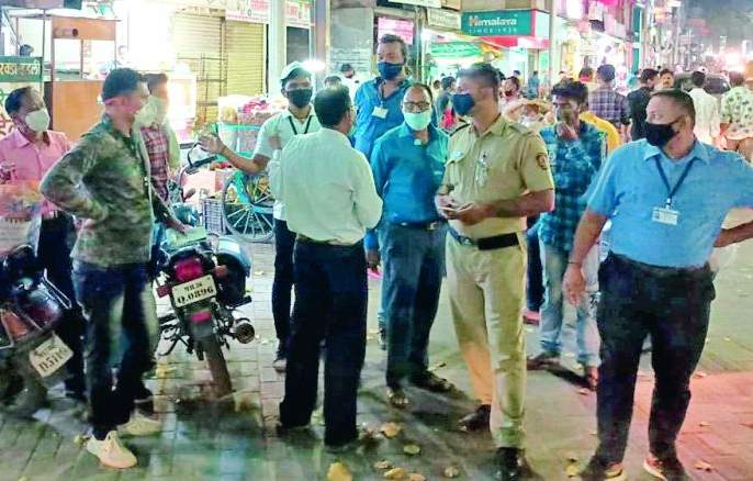 Punitive action taken against 620 citizens who did not wear masks | मास्क न घालणाऱ्या ६२० नागरिकांवर केली दंडात्मक कारवाई