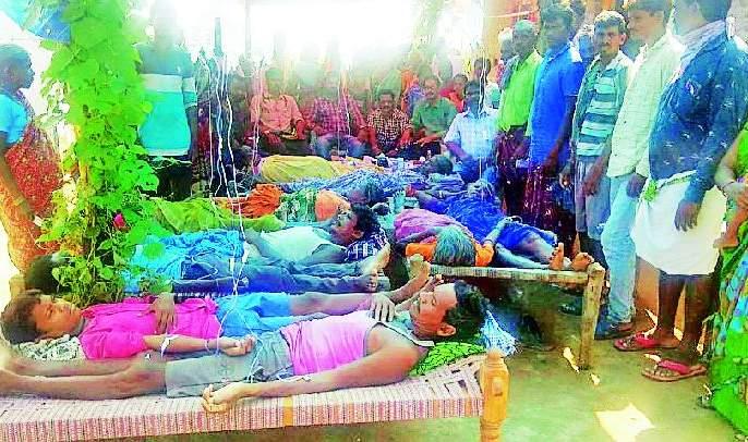 Health camp planted in Kambalpetha | कंबलपेठात लावले आरोग्य शिबिर