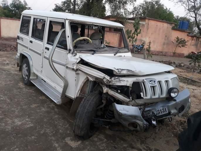 Jeep accident; 10 pilgrims injured | जीपला अपघात; १0 भाविक जखमी