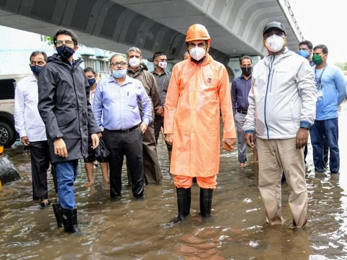 Extreme levels of rainfall over Mumbai, Thane and Raigad | मुंबई, ठाणे आणि रायगडला अतिवृष्टीचा इशारा