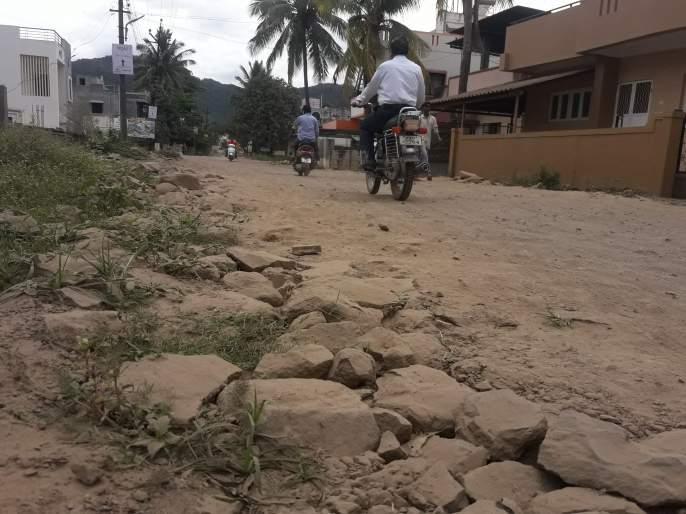 Dirt roads uneven breathing! | धुळीने माखलेले रस्ते अन गुदमरलेले श्वास!, कॉलन्या ओसाड