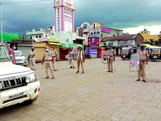 Curfew imposed in the district against the backdrop of Ram temple land worship | राममंदिर भूमिपूजनाच्या पृष्ठभूमीवर जिल्ह्यात संचारबंदी लागू; चोख बंदोबस्त!