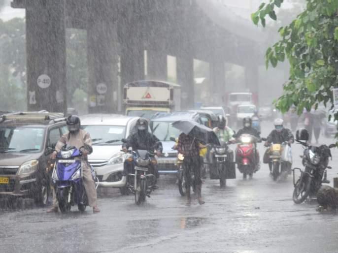 Monsoon's 'Double Century'; Heavy rain will continue   मान्सूनची 'डबल सेंच्युरी'; जोरदार पाऊस सुरूच राहणार