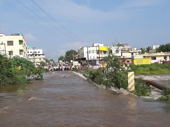 Return to Satara district | सातारा जिल्ह्याला परतीचा तडाखा, शिरवळमध्ये चोवीस तासांत ११४ मिलिमीटर पाऊस
