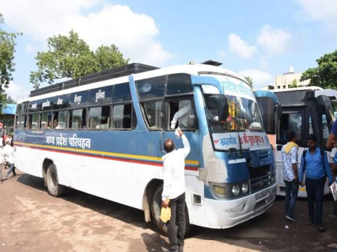 Buses of Madhya Pradesh allowed in Dhule Central Bus Station year after year | वर्षानंतर धुळे मध्यवर्ती बसस्थानकात मध्य प्रदेशच्या बसेसला परवानगी