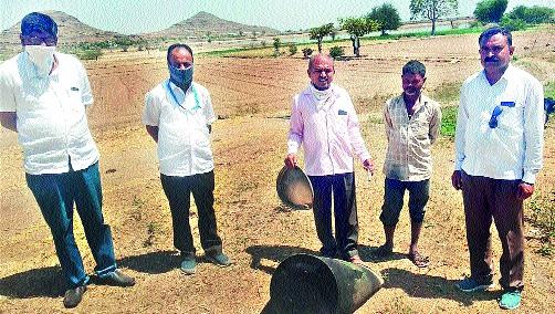 Heavy ammunition destroyed | गावठी दारूभट्ट्या उद्ध्वस्त