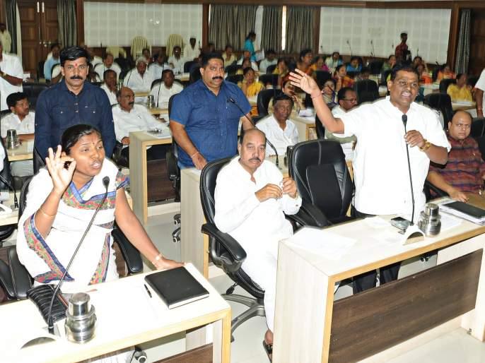 Strong discussion on the four issues raised by 'Lokmat' at the Zilla Parishad meeting | जिल्हा परिषद सभेत 'लोकमत'ने मांडलेल्या चार विषयांवर जोरदार चर्चा