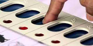 Middle finger ink instead of left-handed index in polls: Collector | पोट निवडणुकीत डाव्या हाताच्या तर्जनी ऐवजी मधल्या बोटाला शाई: जिल्हाधिकारी