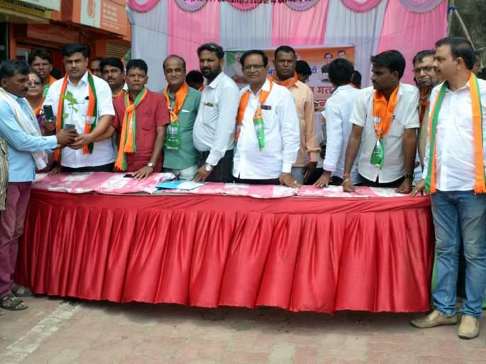 Parbhani: Members of BJP registered; A crowd of enthusiasm for Congress | परभणी : भाजपाची सदस्य नोंदणी; काँग्रेसकडे इच्छुकांची गर्दी