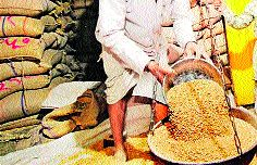Where there is scarcity, where there is supply!   कुठे तुटवडा, तर कुठे पुरवठा !