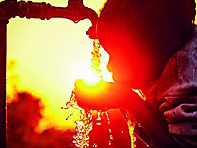 Chandrapurkar approached due to contractor's enthusiasm   कंत्राटदाराच्या हलगर्जीपणामुळे चंद्रपूरकर वेठीस
