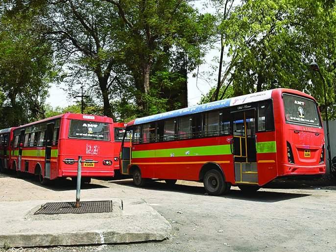 City bus traffic service jam; No solution in the next day! | शहर बस वाहतूक सेवा ठप्प; दुसऱ्या दिवशीही तोडगा नाहीच!