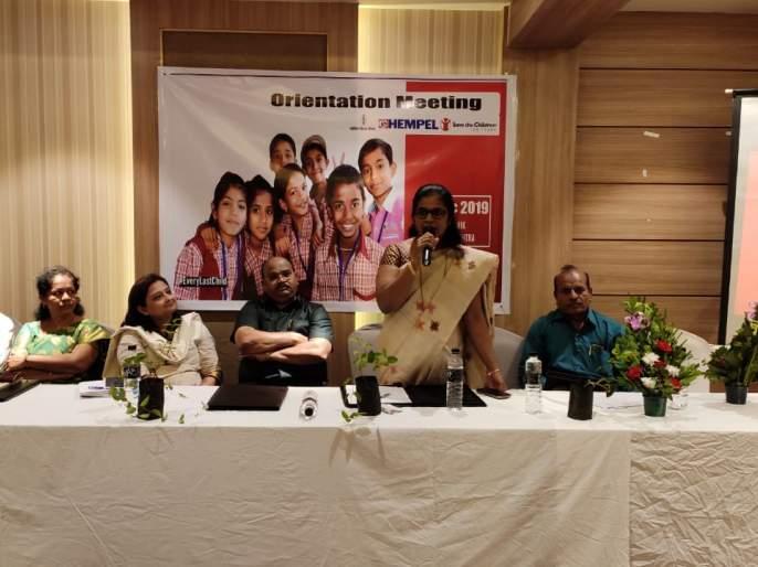 Selection of 7 schools in Igatpuri taluka for 'Save the Children' initiative | इगतपुरी तालुक्यातील ४० शाळांची 'सेव्ह द चिल्ड्रन' उपक्र मासाठी निवड