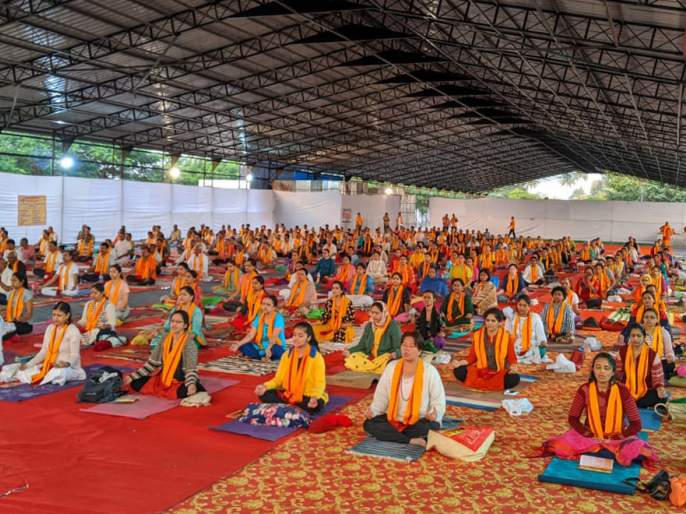 India Yoga Yoga Yoga Festival begins | भारत योग यात्रा योगोत्सवास प्रारंभ