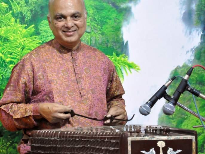 Satara: Sangeerangad, a santoor and tabla jugalbandi, rasakas masamagadha | सातारा : सज्जनगडावर रंगली संतूर आणि तबल्याची जुगलबंदी, रसिक मंत्रमुग्ध