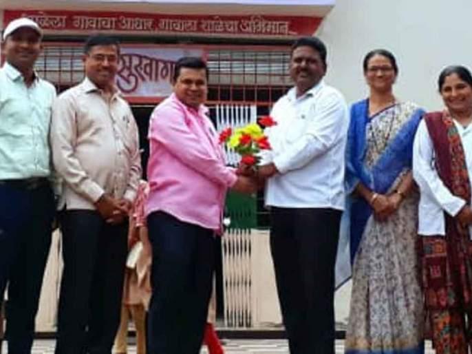 Pramod Lokhande as District President of the State Disabled Officers Association | राज्य अपंग अधिकारी संघटनेच्या जिल्हाध्यक्षपदी प्रमोद लोखंडे