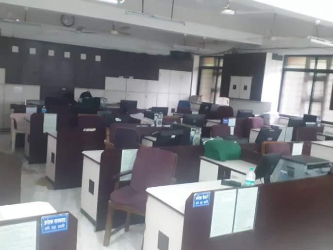District council functioning jam | कर्मचारी संपाने जिल्हा परिषदेचे कामकाज ठप्प