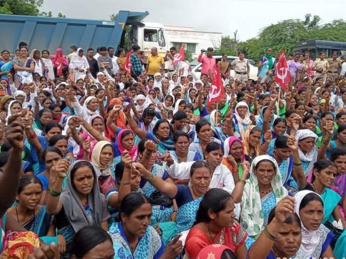 Asha workers three hours agitations | आशा कार्यकर्त्यांचा तीन तास ठिय्या