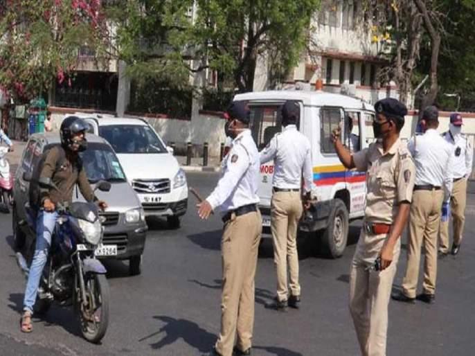 More than 23,000 vehicles seized in two days; Fear of a blockade on the lives of the police? | दोन दिवसांत २३ हजारांहून अधिक वाहने जप्त;नाकाबंदी पोलिसांच्या जीवावर बेतण्याची भीती?