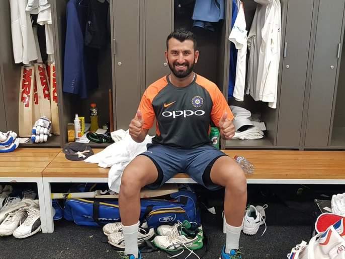 India vs Australia 1st Test : After an unforgettable century, Cheteshwar Pujara make a wish!   IND vs AUS 1st Test : अविस्मरणीय शतकानंतर चेतेश्वर पुजाराने व्यक्त केली 'ही' इच्छा!